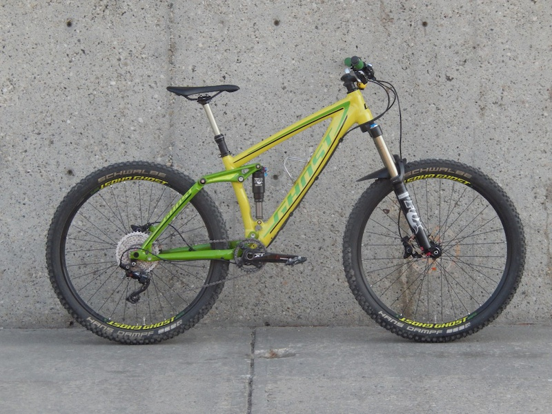 2015 Ghost Cagua 5 650b All Mountain Bike For Sale