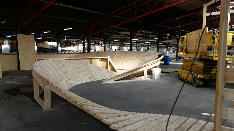 Stride Indoor bike park.
