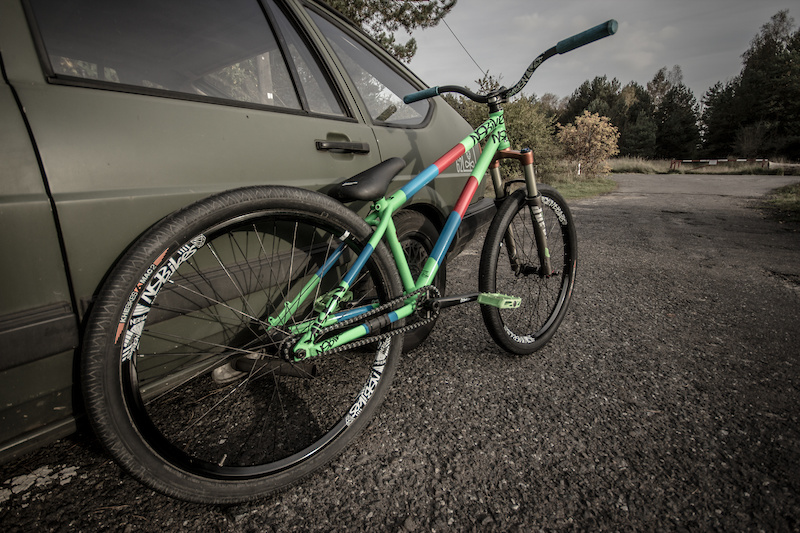 Two of my rides - NS Bikes Majesty and Volkswagen Passat 32b