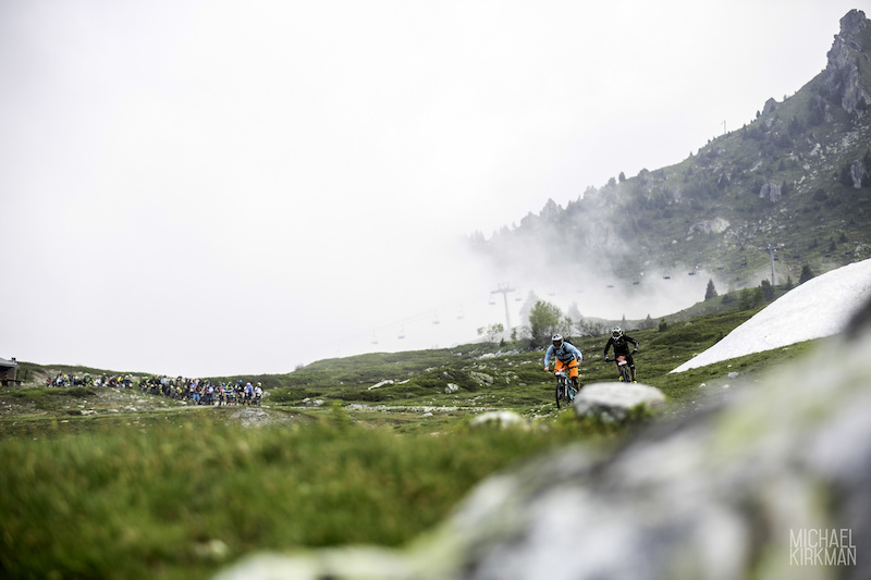 Alpine Race Action from Enduro2 2016