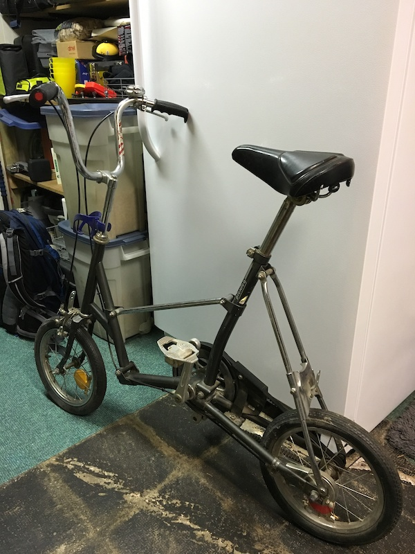 1990 Bridgestone Picnica Folding Bike For Sale