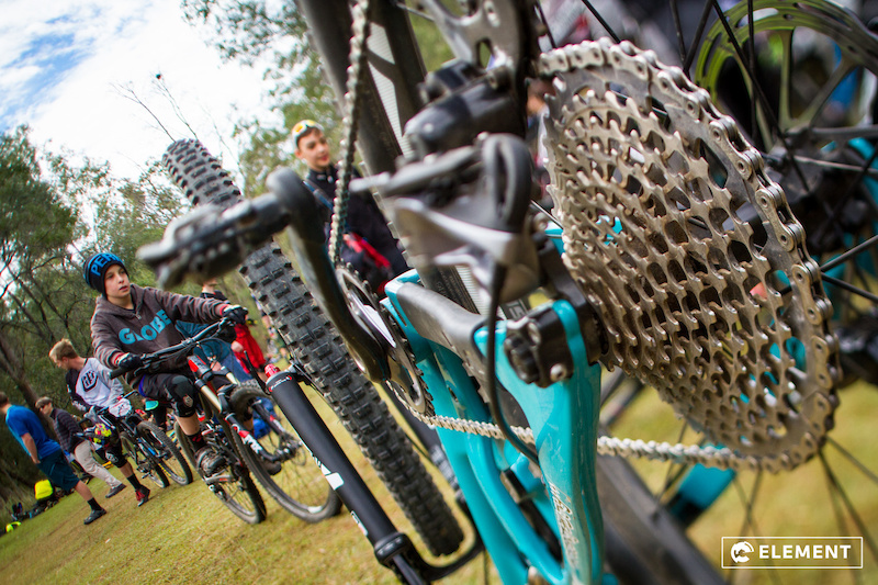 Photos from Round 4 of the SRAM Enduro Series at Mt Joyce 26-6-2016. Photo by Element.