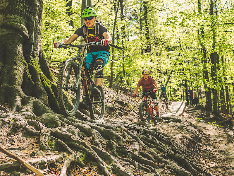 Primal 27.5 and Primal 27.5 on the Enduro trails in Bielsko-Bia a.