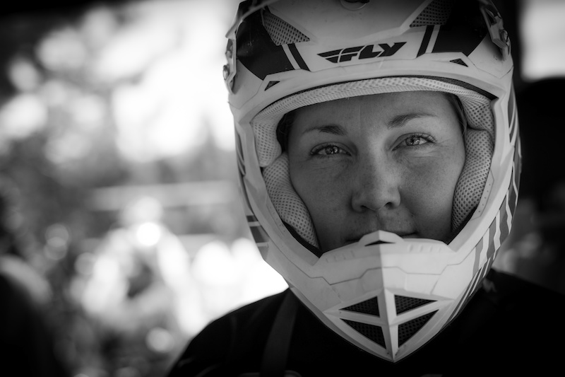 This is what focus looks like Sarah Viggers Pro Women s DH Winner