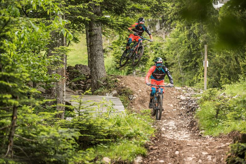 CUBE Action Team Ride Camp Paganella