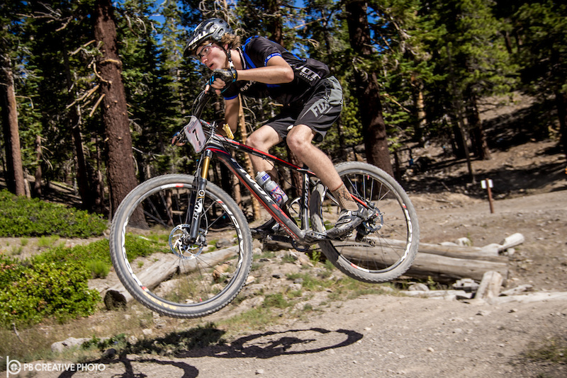 There was no stopping Boulder Colorado s Rainer Barth in the Men s Cat 2 3 15-18 division.