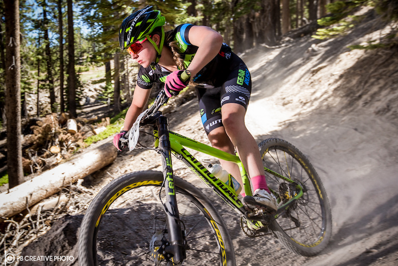 Sydney PalmerLeger Cannondale-360Fly easily topped the Women s Cat 2 3 13-14 class.