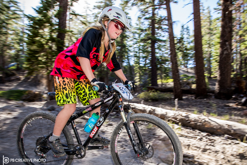 Haydn Hludzinski Boulder Junior Cycling styled her way to the Junior Women s 9-10 class win.