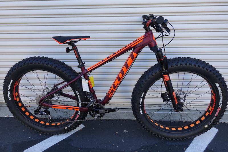 2016 New Scott Big Ed Fat Bike Small For Sale