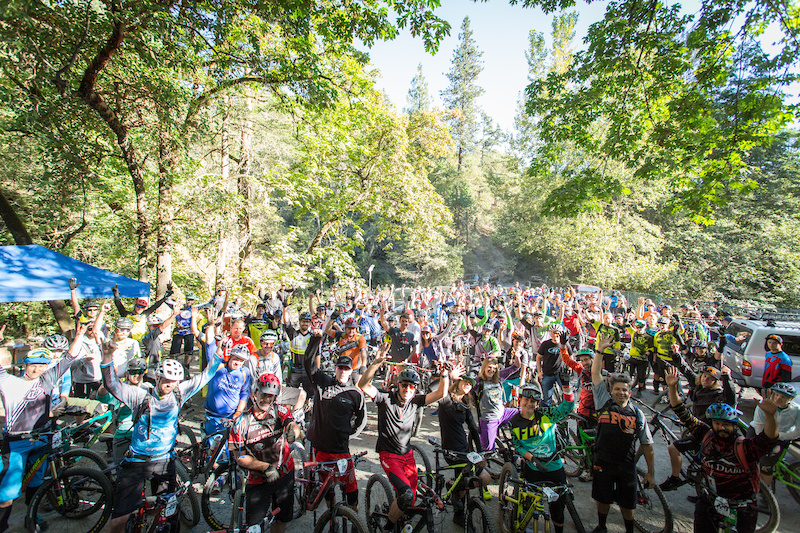 A sell-out event the 5th round of the California Enduro Series stopped in beautiful Ashland Oregon.