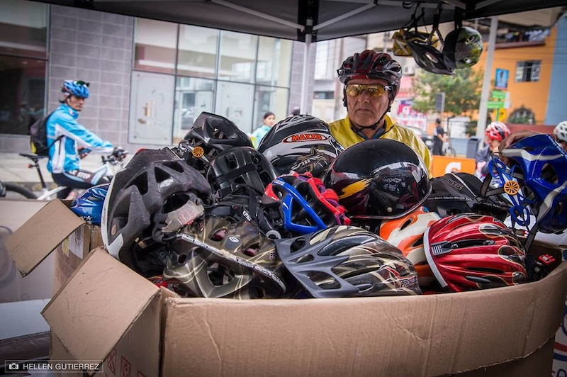 Kali Road Warrior - Peru Helmet Exchange Event
