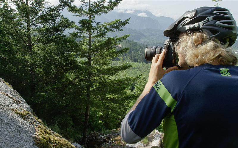 Reuben Krabbe behind the lens for Snapshot Whistler BC with Reuben Krabbe