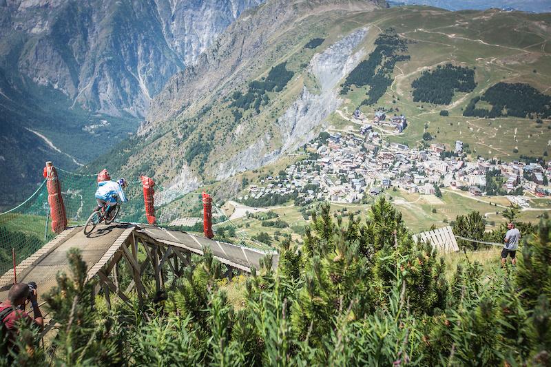 iXS European Downhill Cup Heads to Les Deux Alpes