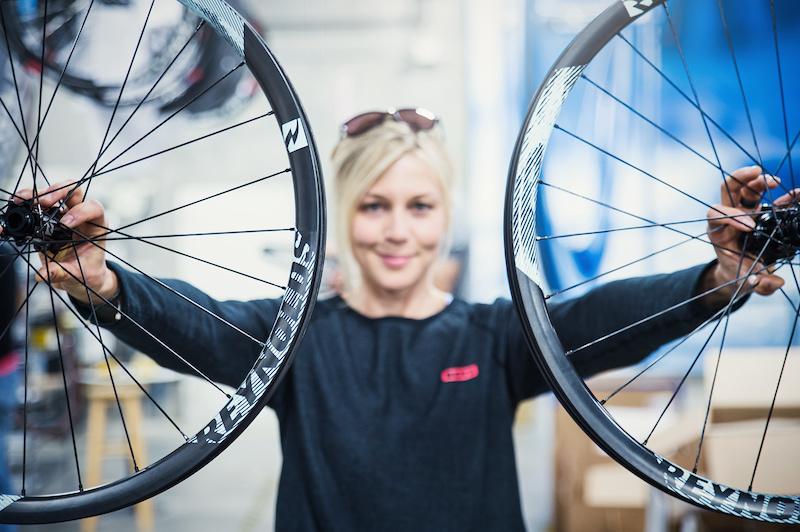 Wheel Building at Reynolds Cycling w/ Julia Hofmann