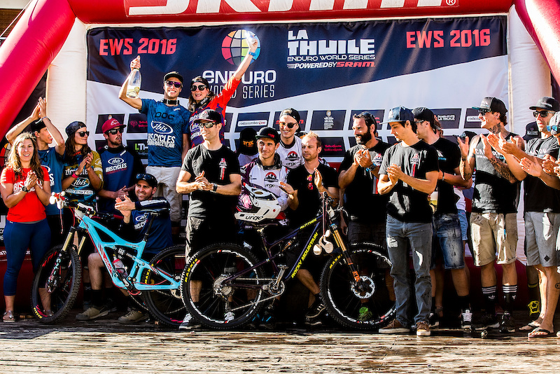 It wasn t meant to be with the individual podium yet but finally achieving a team podium was a great motivation. Pic Sven Martin