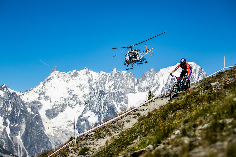 Epic views paired with alpine trails surely make a great weekend of racing. Pic Sven Martin