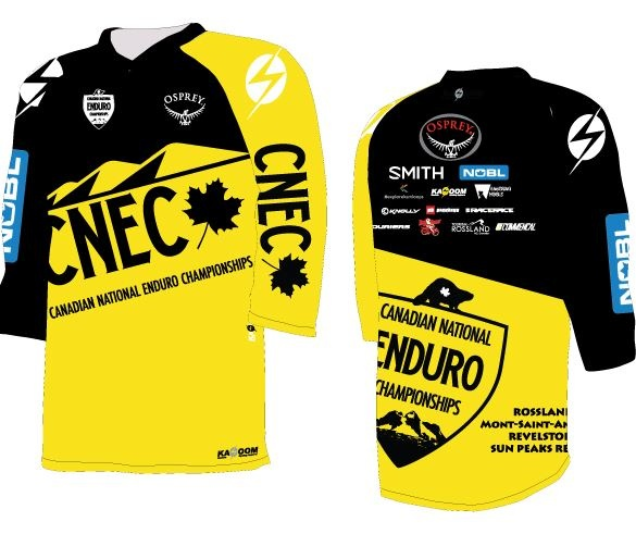 Course Release Rossland - Osprey Canadian National Enduro presented by NOBL Wheels