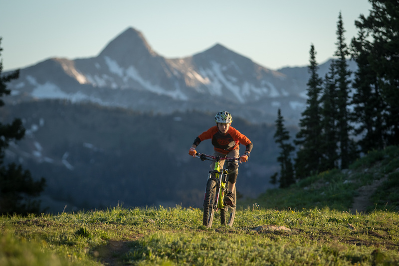 Spending time in the high alpine with Weston. Helping him train in all aspects of biking was our goal this summer.