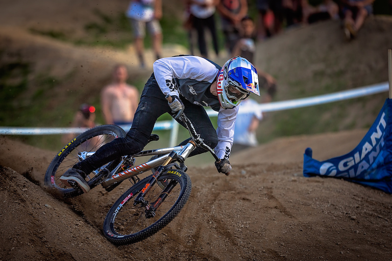 Thomas Genon during the CLIF Bar Dual Speed amp Style at Crankworx Whistler. Photo by Clint Trahan.