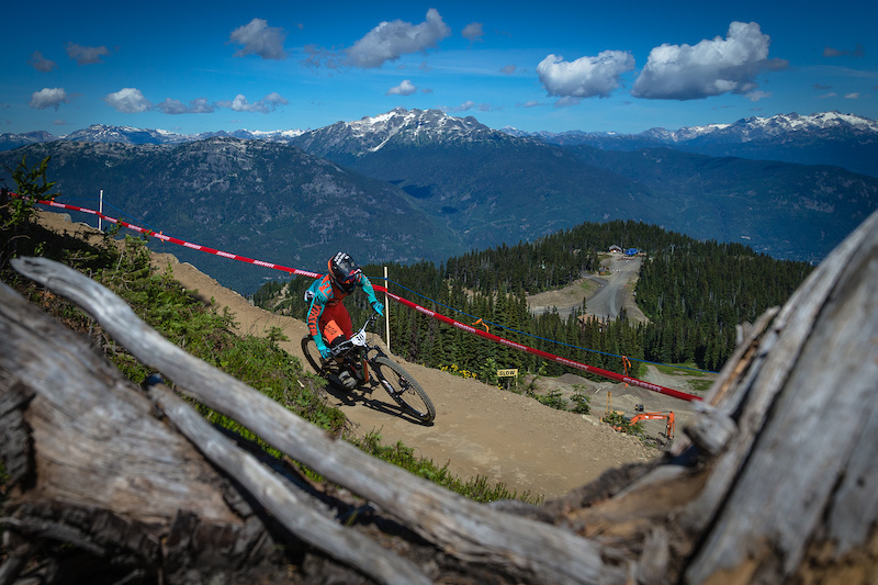 Iago Garay during the Candian Open Enduro presented by Specialized at Crankworx Whistler 2016. Photo by Clint Trahan