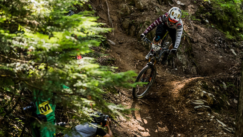 Jesse Melamed SRAM Canadian Open Enduro presented by Specialized Crankworx Whistler 2016. Photo Sean StDenis