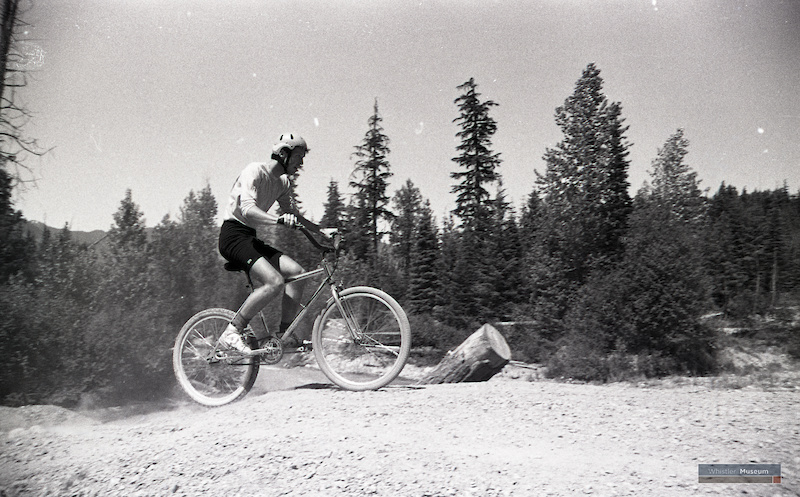 Whistlers Canada s First MTB Race. June 20 1982