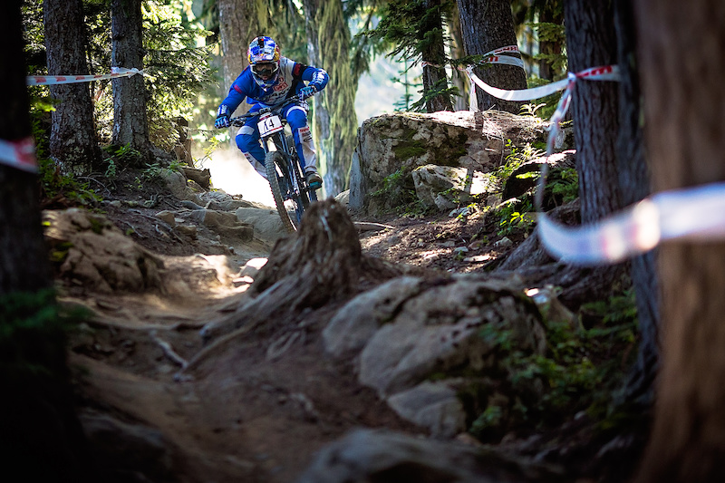 Marcelo Gutierrez Villega during the Garbonzo DH Race at Crankwork Whistler 2016. Photo by Clint Trahan