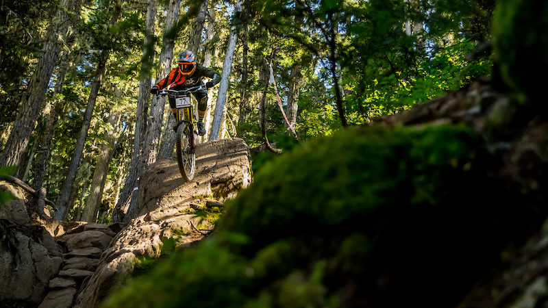 Louis Hamilton Garbonzo DH Crankworx Whistler 2016. Photo Sean StDenis