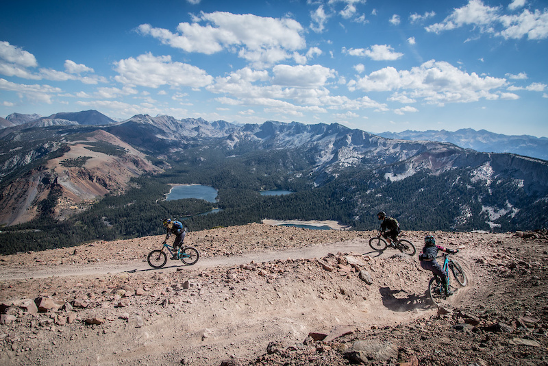 Riders took on the high elevation and rugged terrain of Mammoth Mountain with style and grace during the 2015 Kamikaze Bike Games Enduro. Photo Called to Creation