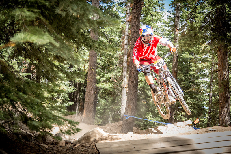After a decade of dominating downhill mountain biking Curtis Keene dove into the enduro scene in 2012. He displayed plenty of skill at the 2015 Northstar Enduro.