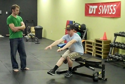 Single Leg Bench Squat with Aaron Gwin
