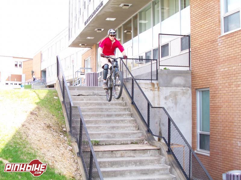 10x10 stair gap