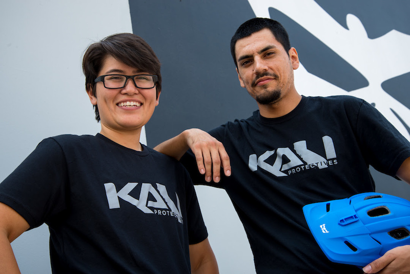 Tracey Bueno and Matt Buzenes of Kali Protectives.