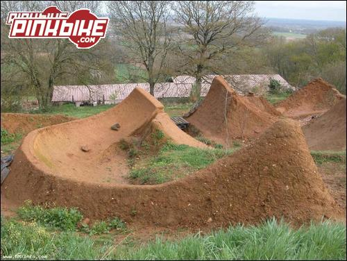 some crazy dirt jumps