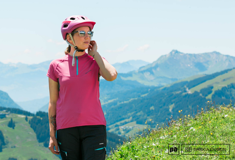 Madison Zena Short Sleeve Womens Cycling Jersey Red