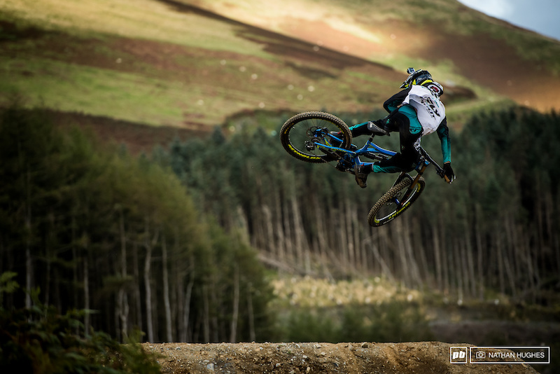 Bernard Kerr getting comfy on the new step-up.