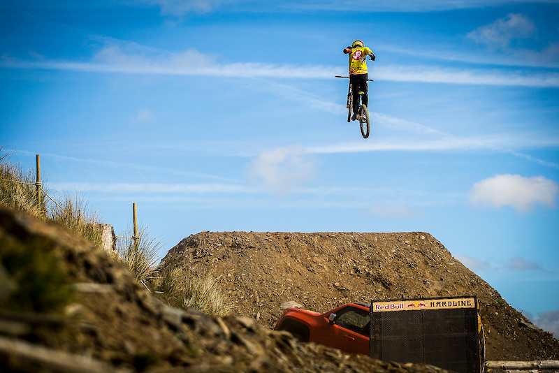 Red Bull Hardline A Wild First Experience
