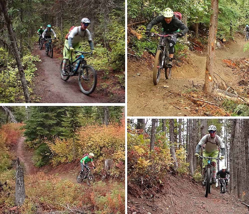 Vernon Fall Mountain Biking Part 1