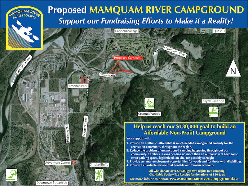 Mamquam River Campground images.