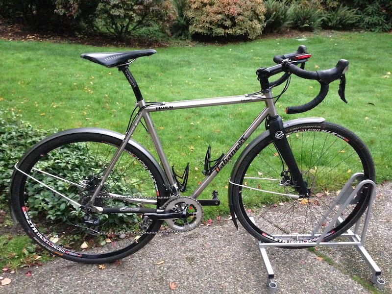 2015 Habanero Titanium Cyclocross Bike For Sale