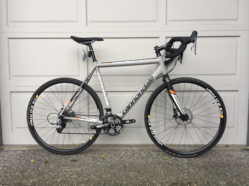 9b5bbebb5bb 2015 Cannondale CaadX Sram Rival Disc 56cm For Sale
