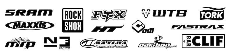 Kona sponsor logos.