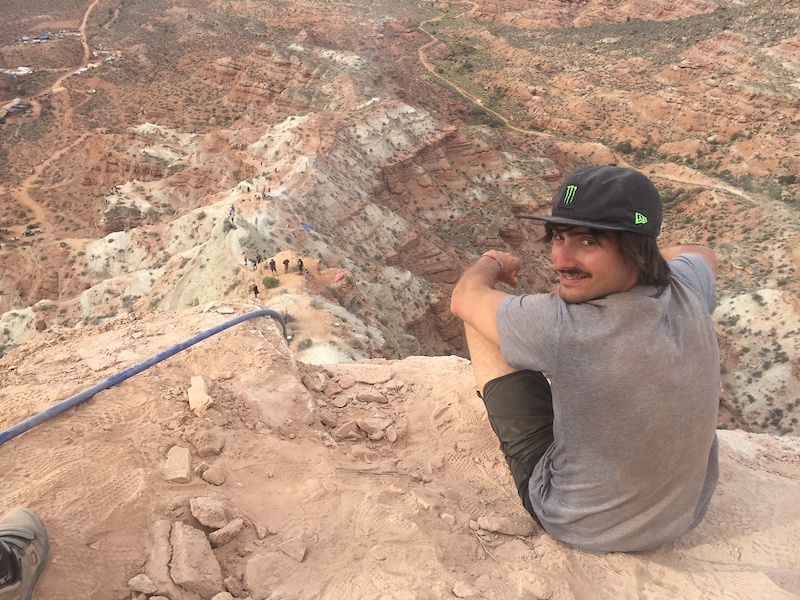 Images from the Why I Didn t Drop In - Sam Reynolds on Red Bull Rampage Blog