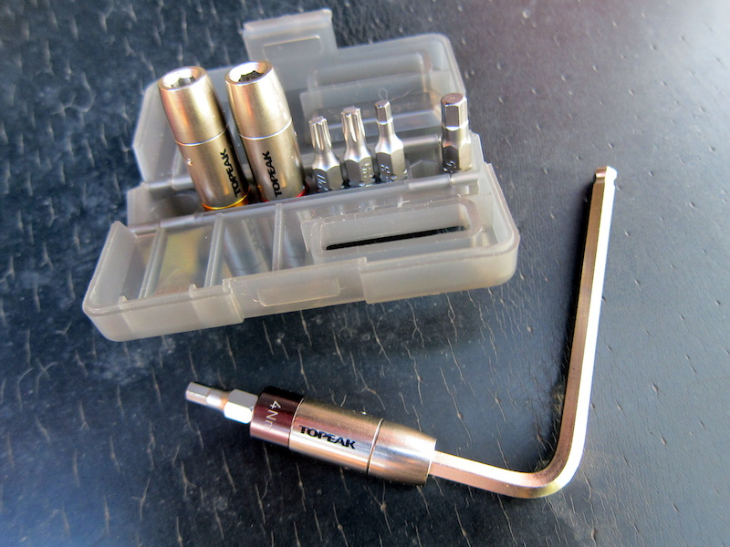 Topeak Nano Torqbox X Set