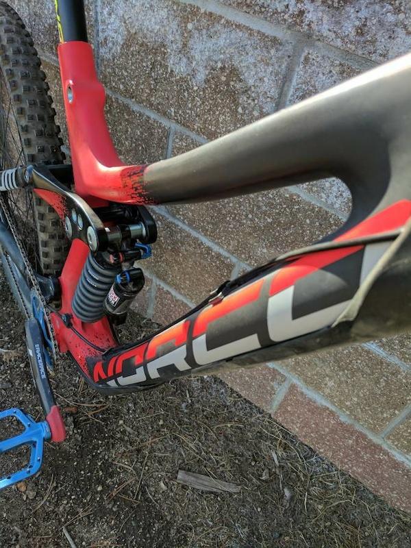 2016 Norco Aurum C 7.2 Carbon Downhill Bike, Medium