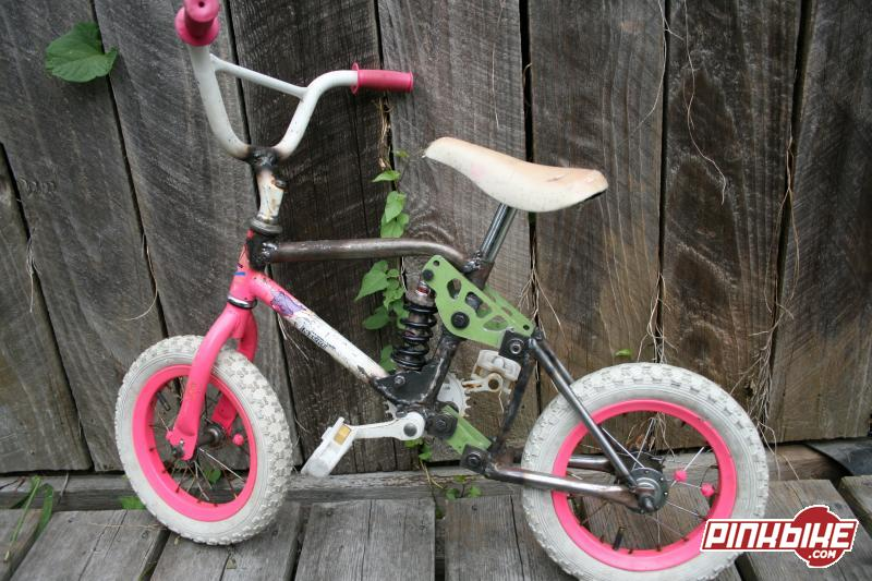 Bike me and my freind made at school