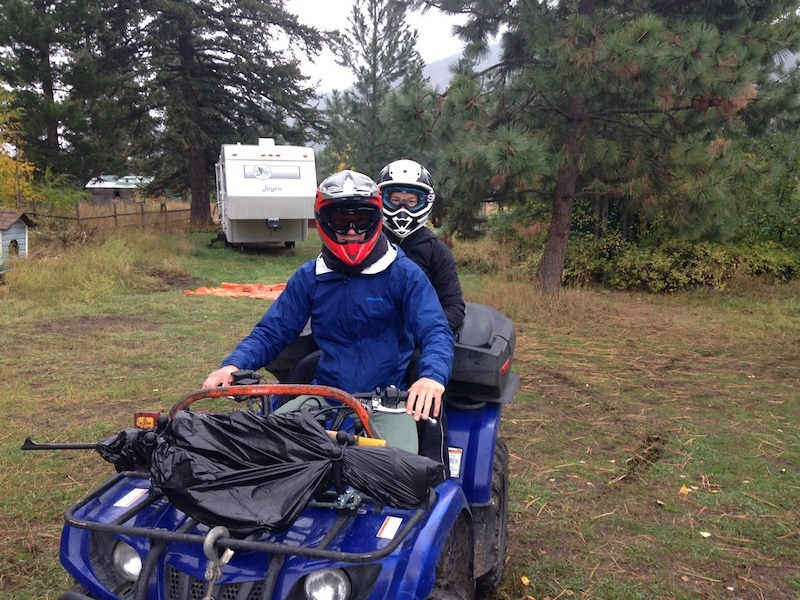 Rider Perspective Off-Season at Camp Guthrie