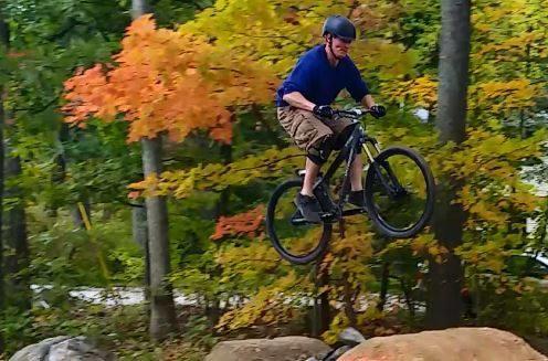 Fall jumping
