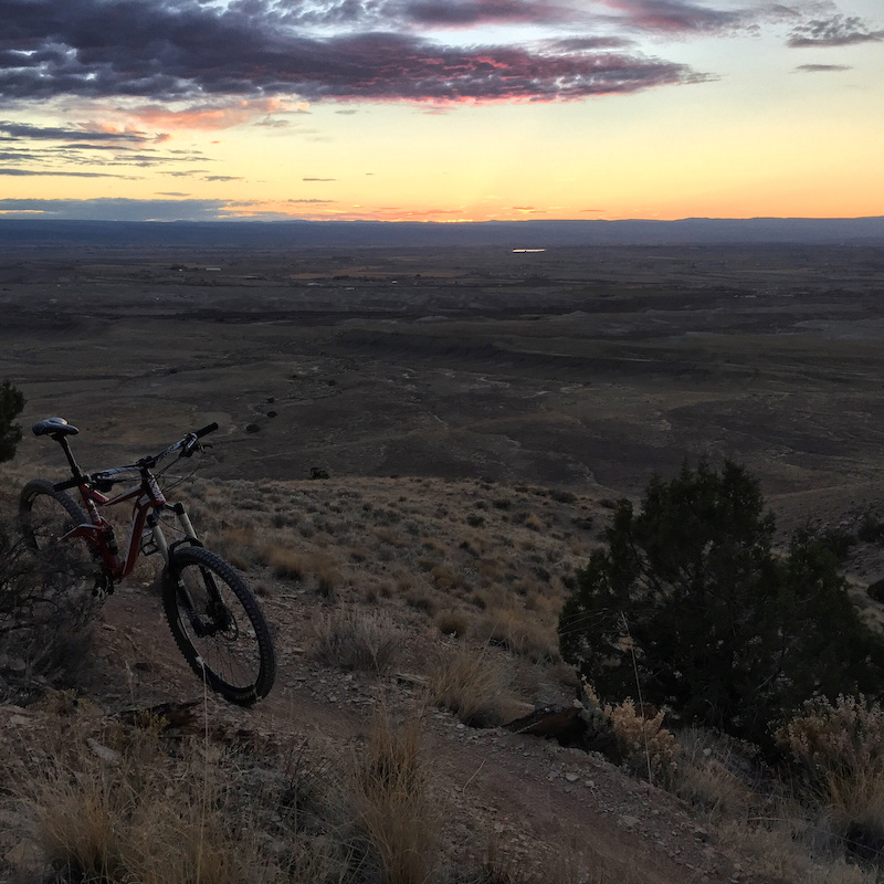 Sidewinder Mountain Bike Trail Delta Colorado