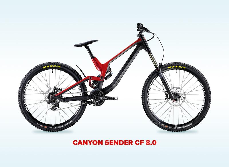 Canyon Sender